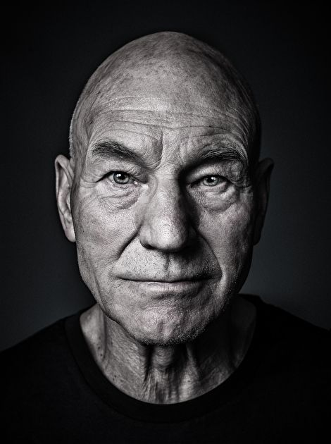Sir Patrick Stewart by Andy Gotts MBE