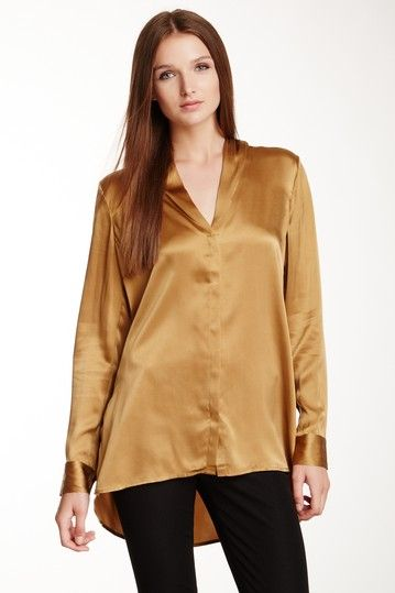 Elizabeth and James Hammered Miata Silk Blouse by Assorted on @HauteLook