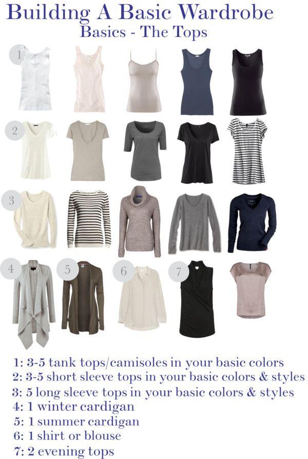 18 best build a wardrobe images on pinterest wardrobe for Minimalist essentials