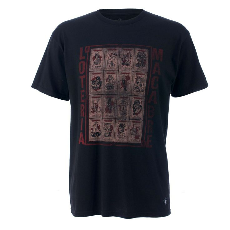 Iron Fist Loteria Men's T-shirt, 100% Cotton. Alternative Clothing