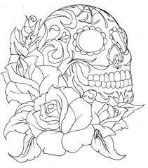 lace and skull tattoo - Google zoeken