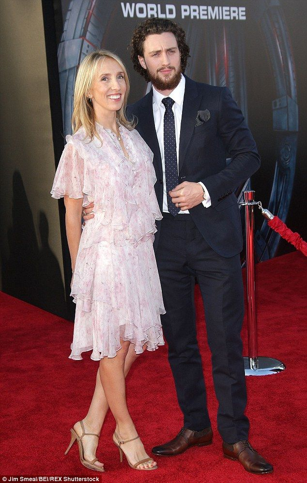 Aaron Taylor-Johnson, 24, attends Avengers premiere with ...