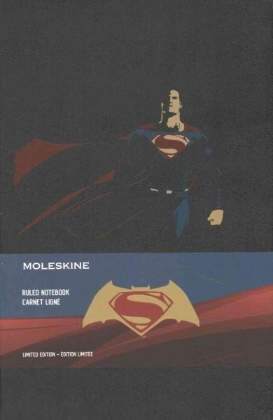 Moleskine Batman Vs Superman Limited Edition Notebook,, Ruled,, Superman