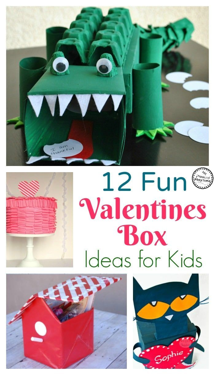 Cute Valentines Boxes for kids.