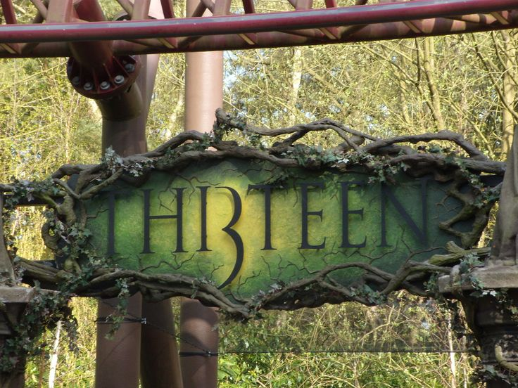 Thirteen - Alton towers