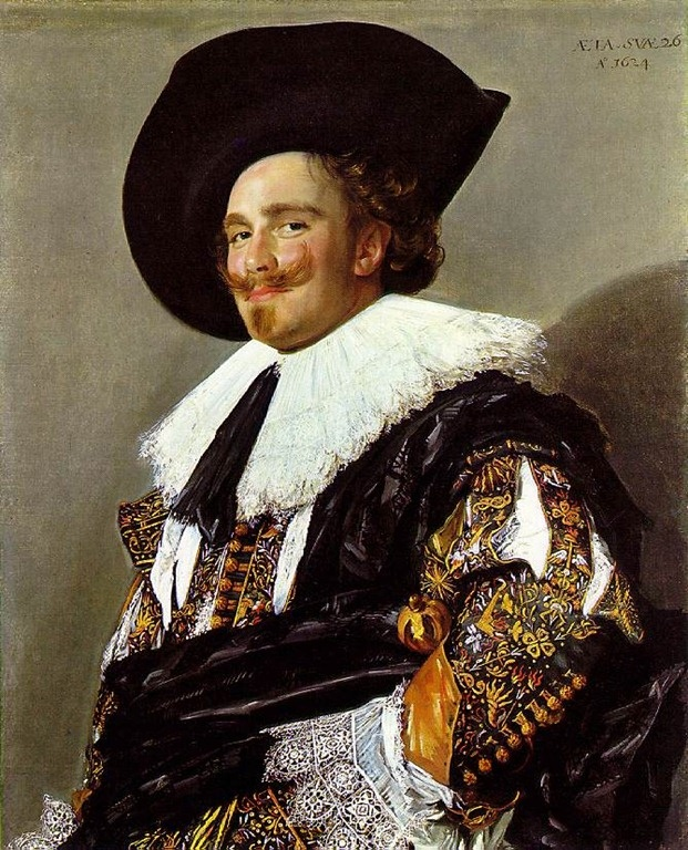 Frans Hals -  Laughing Cavalier
