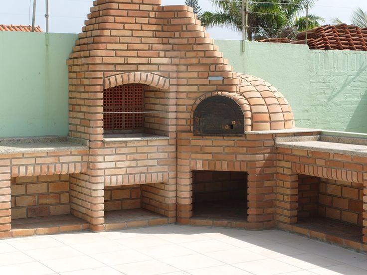 trio fogao a lenha forno de pizza churrasqueira - Pesquisa Google