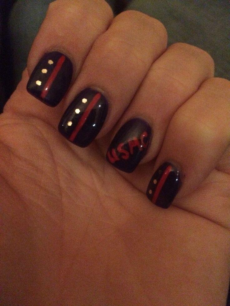 Best 25 usmc nails ideas on pinterest marine nails my marine usmc nail design marine more prinsesfo Images