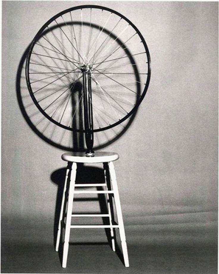 Marcel Duchamp – Bicycle Wheel Dada 1913