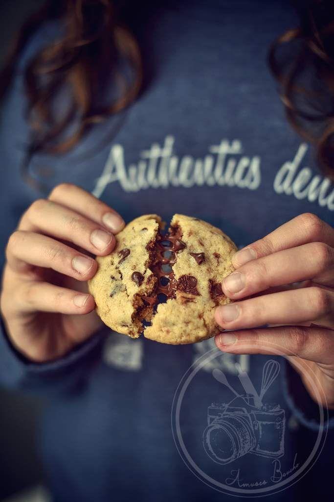 Cookies au coeur fondant