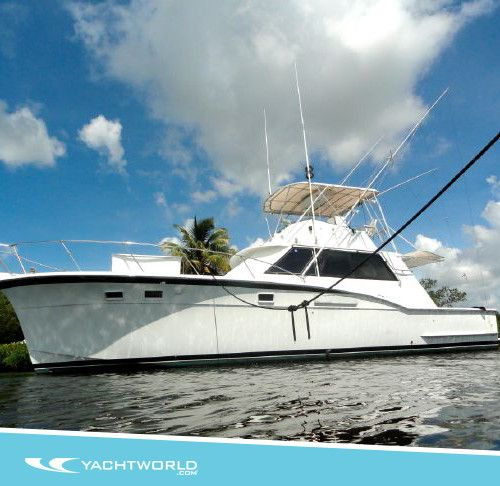 Old Fishing Boats On Beach: Browse: 1975 Hatteras Convertible In Palm Beach, FL