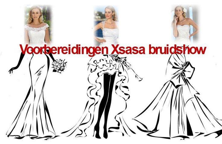 Druk bezig met de voorbereidingen Xsasa Bruidsshow: keuzes maken: welke mannequin, welke jurk, welke accessoires, enz., enz...... http://www.xsasa.nl/nieuws/xsasa-bruidsshow