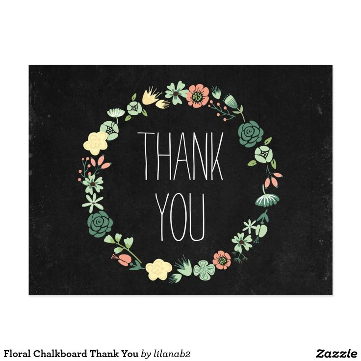 create your own postcard  zazzle  thank you