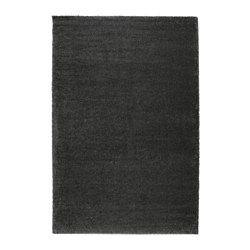 IKEA - ÅDUM, Teppich Langflor, 200x300 cm, , Der dicke, dichte Flor ist kuschelig an den Füßen und wirkt gleichzeitig geräuschdämpfend.Aus Synthetikfasern und daher robust, fleckabweisend und leicht zu reinigen.