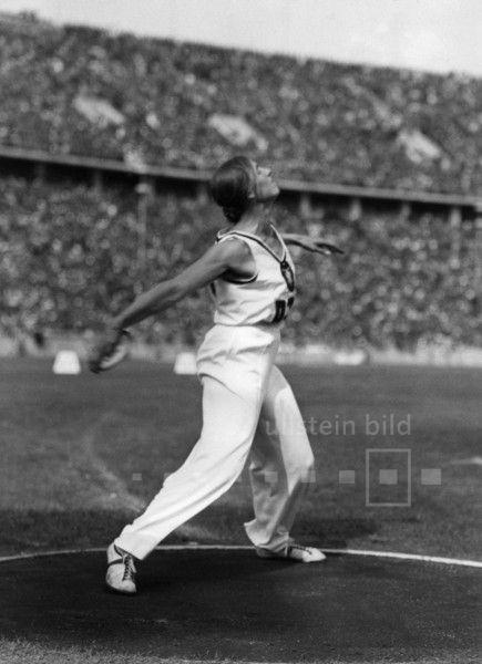 Gisela Mauermayer (Leichtathletin Deutschland) - Olympiasiegerin im Diskuswerfen | Olympische Spiele 1936 in Berlin