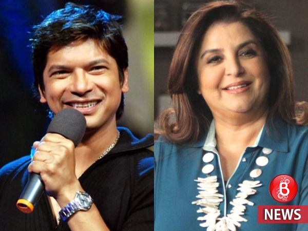 Shaan and Farah Khan join hands to promote awareness about blind population