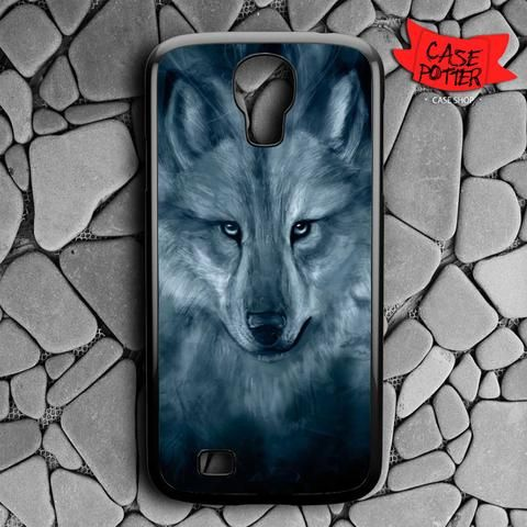 Wolf Painting Samsung Galaxy S4 Black Case
