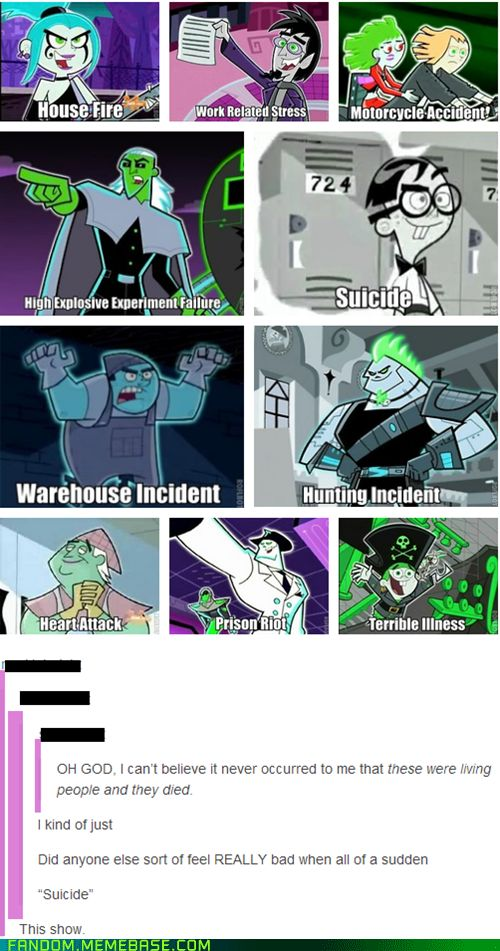 The Ghosts of Danny Phantom