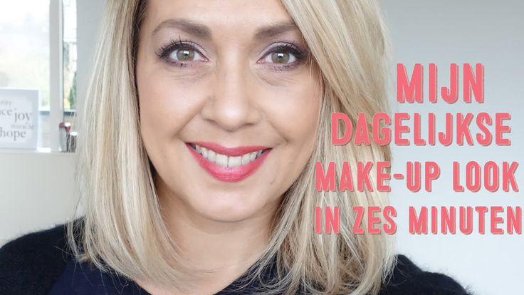 Mijn dagelijkse make-up in 6 minuten