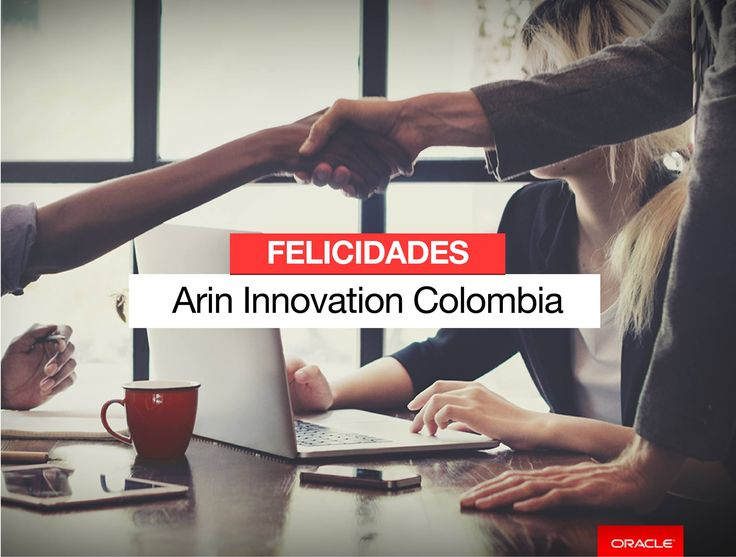 Arin Innovation partner de Nexsys de Colombia recibe el galardón Oracle Excellence Award, gracias a su liderazgo e innovación ha sido reconocido como el Socio Especializado del año 2017, Specialized Partner of the Year - Customer Experience (CX) Cloud. ¡Felicitaciones por este reconocimiento que resalta el trabajo en equipo de nuestro partner!