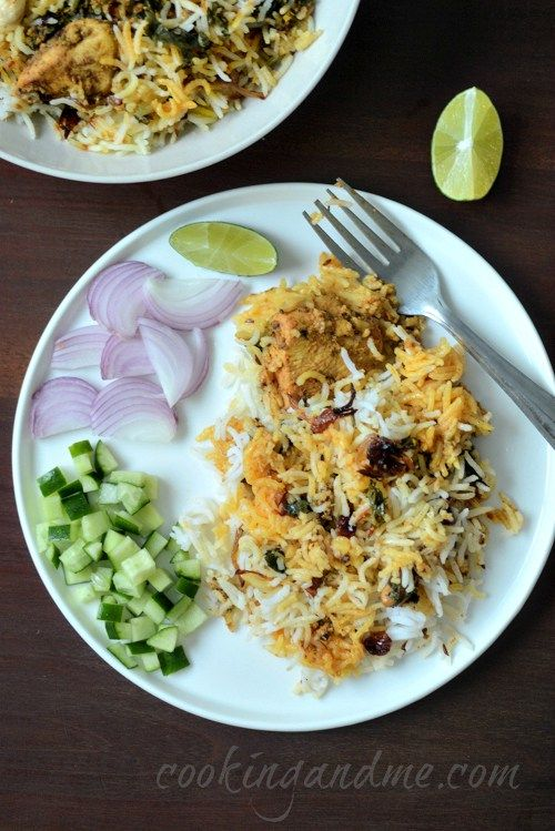 the best chicken dum biryani recipe ever!! super detailed and step by step pictures, you really can't go wrong here. #chickenrecipe #indian #dumbiryani #spicy #biryani