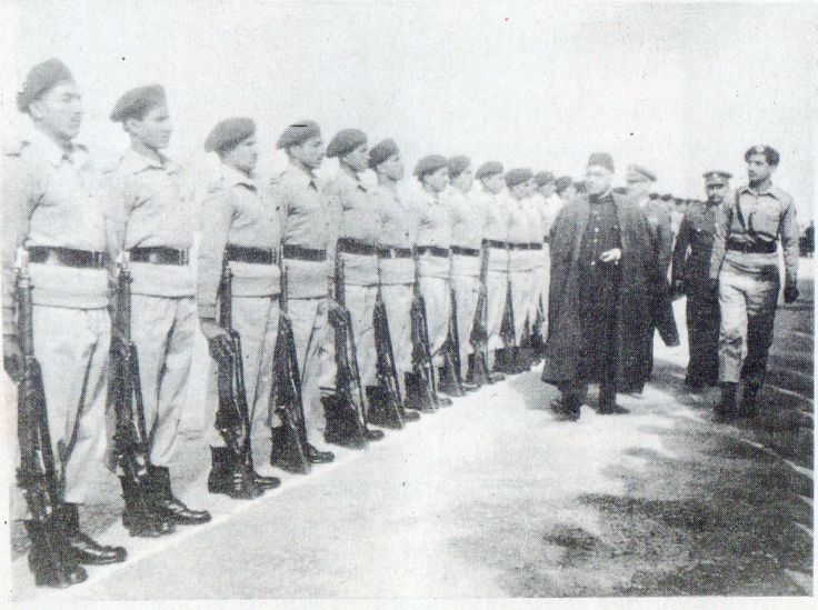 9 Frontier Force (Wilde's) had a unique distinction of presenting the guard of honor to the first Prime Minister Liaquat Ali Khan on 29 September, 1948 at Rawalpindi. The immaculately turned out guard was commanded by Captain (later Brigadier) Muhammad Nawaz.