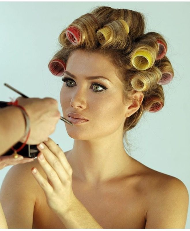 where to get your haircut hair rollers のおすすめ画像 120 件 カーラーを使ったヘアセット 4503