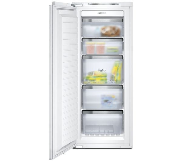 SIEMENS iQ500 GI25NP60 Integrated Tall Freezer: Make the most of effective frost-free freezing with the sleek… #Electrical #HomeAppliances