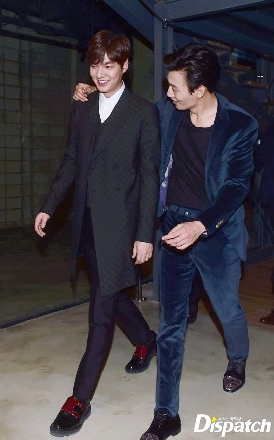 Lee Min Ho and Kim Rae Won, Gangnam 1970 VIP Premier, 20150120.