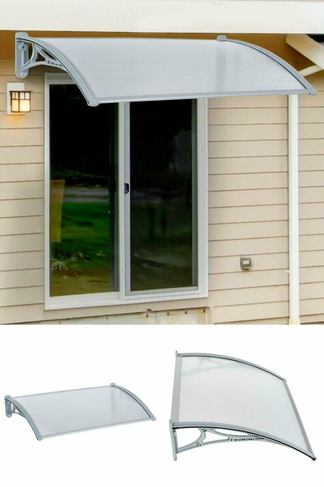 Front Back Door Awning Window Shelter Cover Shelter Canopy Sunshae