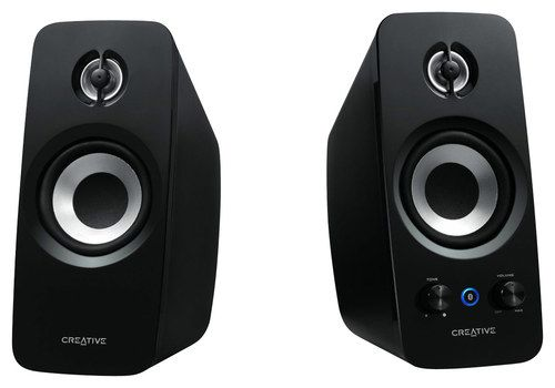 Creative - Inspire T15 2.0 Bluetooth Speaker System (2-Piece) - Multi