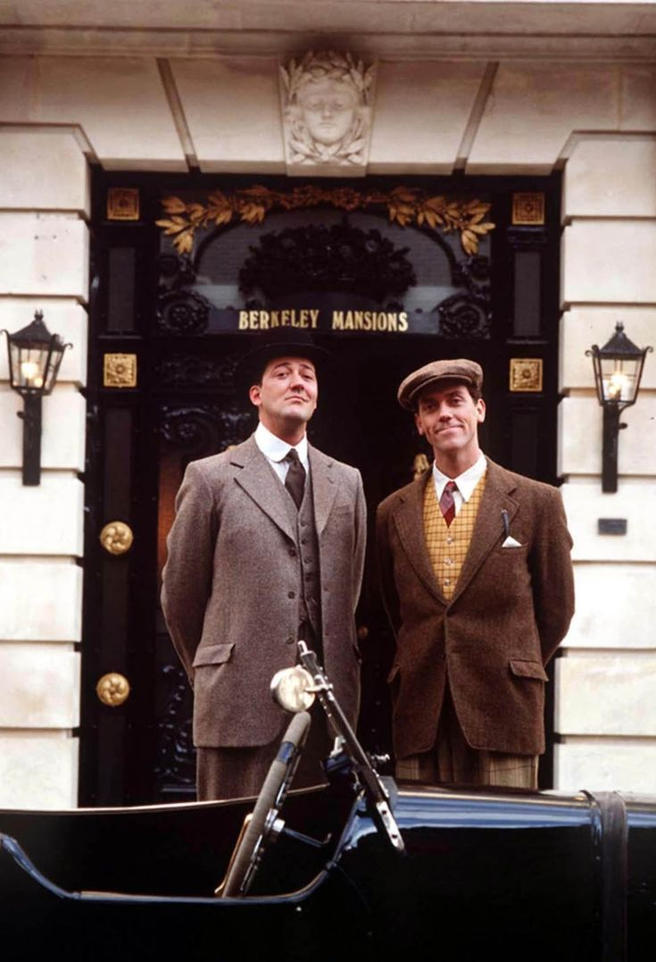 """Jeeves and Wooster...I have recently been introduced to this show and I love it. I wasn't rolling off my chair laughing, however, I rolled my eyes and said """"This man is an idiot and his butler's so much smarter than him!"""" LOL"""