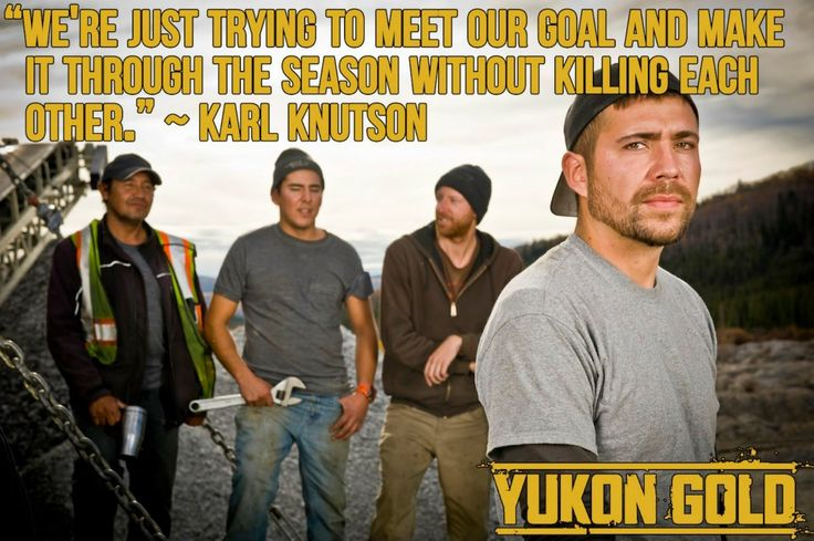 Words to live by from Karl Knutson.