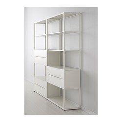 FJÄLKINGE Shelving unit with drawers - IKEA