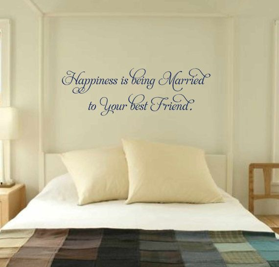 21 best Vinyl wall Quotes for the Bedroom images on Pinterest ...