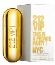 Carolina Herrera 212 VIP. Oriëntaals parfum met kopnoten van passievrucht en rum, hartnoten van muskus en gardenia en basisnoten van tonkaboon en vanille. Simpel sexy