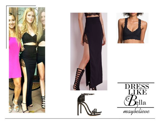 Bella Thorne #8 by maybelieve on Polyvore featuring moda, Missguided, Free People and Stuart Weitzman