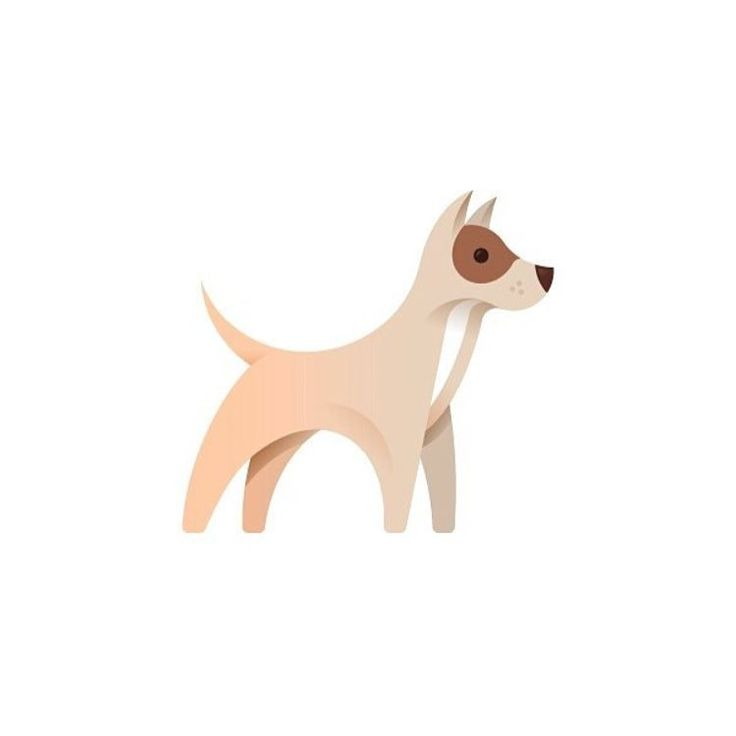 Dog by @alex.tsanev Follow us to get best new designs everyday! #dribbble…
