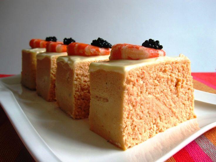 Pastel frío de merluza y langostinos 9