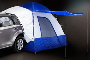 2012 Nissan Xterra Accessory Parts - tent that attaches
