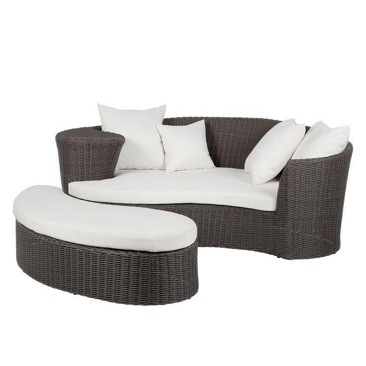 Lounge-Set Paradise Lounge (2-teilig) - Polyrattan - Grau, Fredriks Jetzt bestellen unter: https://moebel.ladendirekt.de/garten/gartenmoebel/loungemoebel-garten/?uid=ee815579-c97d-5eef-8a2f-c55df72f2daf&utm_source=pinterest&utm_medium=pin&utm_campaign=boards #fredriks #loungemoebelgarten #garten #gartenmoebel #gartenmöbel #loungemöbel