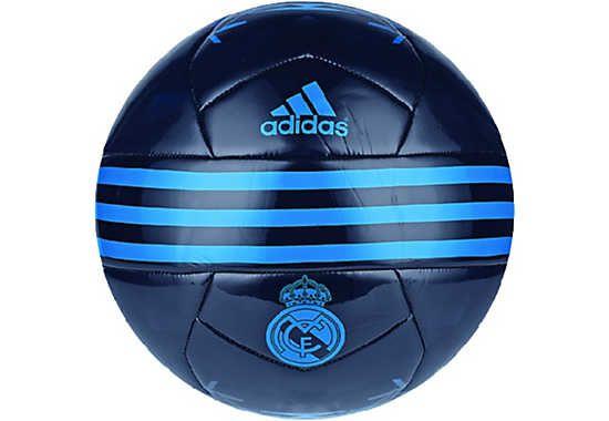 adidas Real Madrid Soccer Ball - Night Indigo & Bright Blue