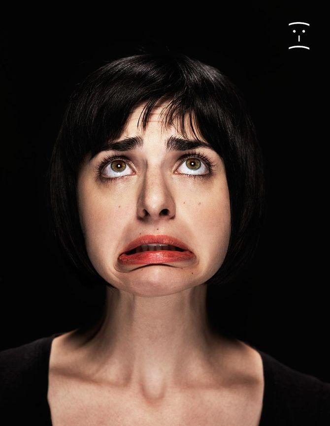 Тупое выражение лица фото женские