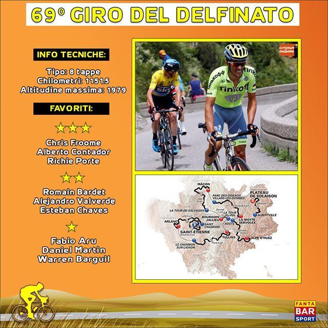 🚲🚲 Giro del #Delfinato 2017 - #Preview: 🚲🚲 Giugno è il mese del ciclismo targato #Francia, con la fase di avvicinamento al #Tour che inizierà dalla settimana di ''rodaggio'' del #Dauphinè. Tanti big al via a darsi battaglia, in un percorso piuttosto vario, che presenterà, oltre ad una cronometro di 23,5 chilometri, anche la tanto attesa ascesa all'Alpe d'Huez, che mancherà invece nella Grand Boucle 2017. Nel complesso non una corsa durissima, considerando anche i 143 km di media da…