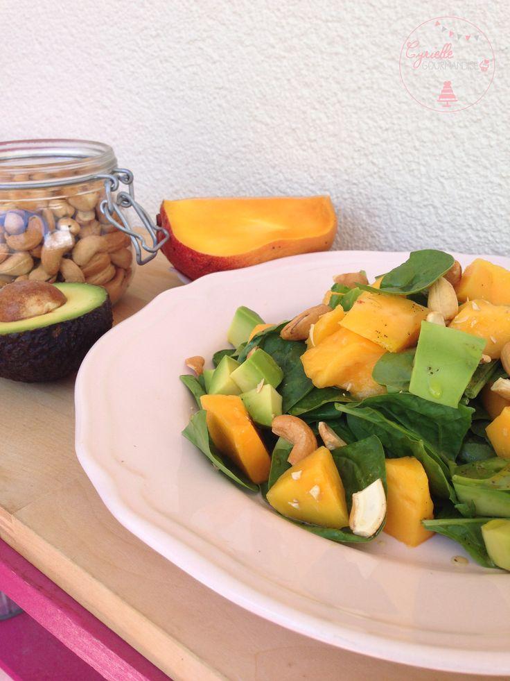 Salade Avocat-Mangue-Noix de Cajou – Inspiration du Vietnam | Cyrielle Gourmandise