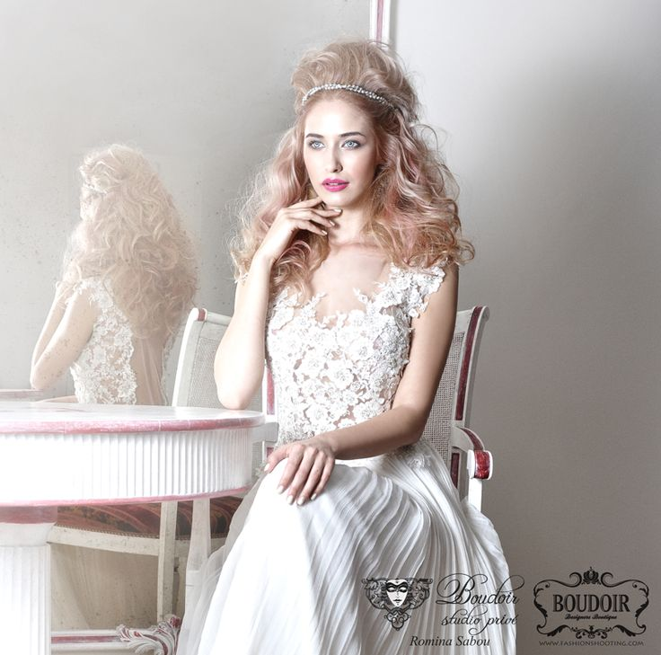 Blond Rose 2014 Wild Bride #bridalhair #weddinghair #bride #wedding #hairstyle #blond