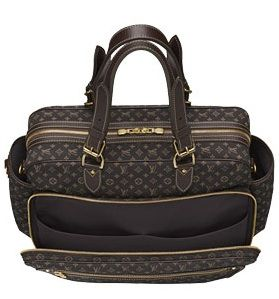 Louis Vuitton diaper bag - for the vogue mom!