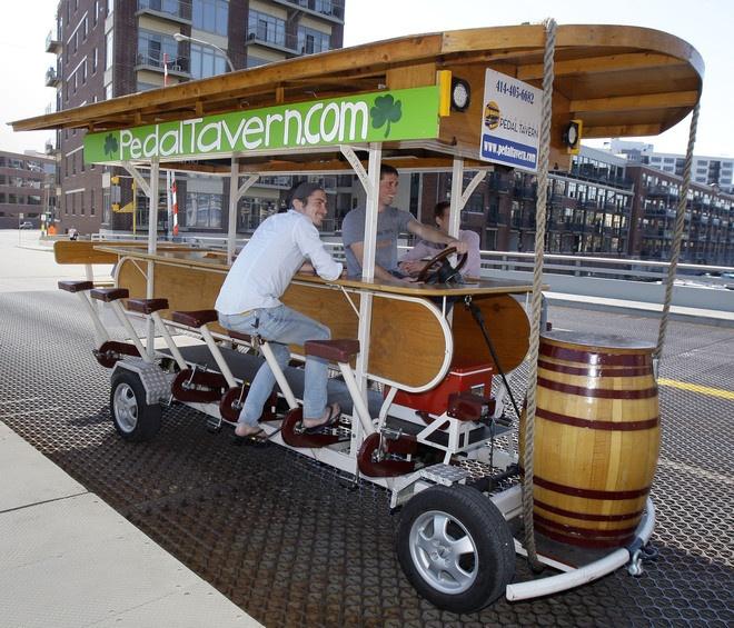 pedal tavern!