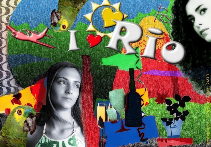 https://flic.kr/p/PwuRu2 | I LOVE RIO .  (14) | Vintage Brazil . Collages, I Love Rio MIX (2010-2016) / Artexpreso . Rodriguez Udias . Fotografia . *Phtochrome Artwork . Videos Youtube, 31 Dic 2016 / Sorrisos do Brasil ..