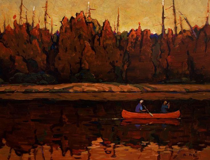 Canoe Trip, by Min Ma